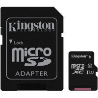 Karta pamięci microSDXC 128GB Class 10 + adapter Kingston