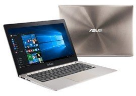 "Laptop Asus ZenBook UX303UA-DH51T i5-6200U/13.3"" FHD TouchScreen/8GB/SSD 256GB/BT/Win 10 Gray"