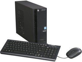 PC Acer AXC-704G-UW61 Celeron N3050/4GB/500GB/DVD/Keyboard+Mouse/Small Form Fac Win 10