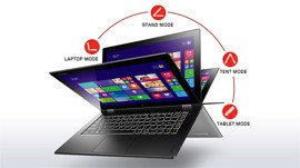 "Ultrabook IdeaPad Yoga 2 Pro I7-4510U/256GB SSD 8GB 13.3"" (3200x1800) TouchScreen/x360/ BT/BLK/Win 8.1"