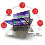 "Laptop P55W-B5224 I7-4510U/15.6"" FHD TouchScreen/8GB/256SSD/x360/Win 8.1"