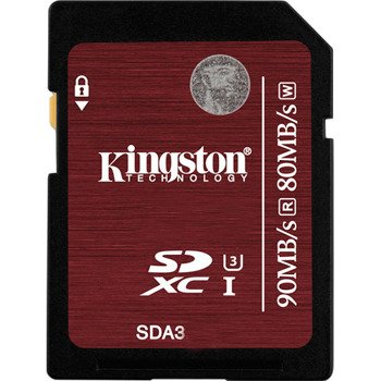 Karta pamięci SDHC 64GB Class10 UHS-I U3 transfer:90/80 MB/s Kingston