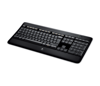 Klawiatura Logitech Wireless Illuminated Keyboard K800