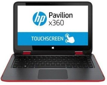 "Laptop HP Pavilion 13-A013x360 I5-4210U/13.3"" TouchScreen/8GB/1TB/Win 8.1 Red"