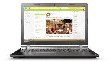 "Laptop Lenovo 100 N2840/15.6""/4GB/500GB/DVD/Win 10/UK"