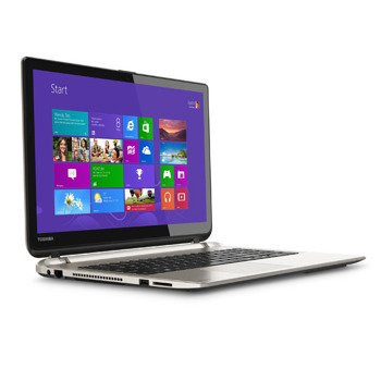 "Laptop Toshiba S55T-B5273NR i7-4710HQ/15.6"" TouchScreen/8GB/SSD 512GB/BLK/Win 8.1"
