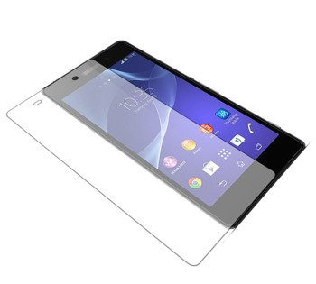 Neutral Ultrathin TPU Soft Case Glass Screen Protector Sony XPERIA Z2