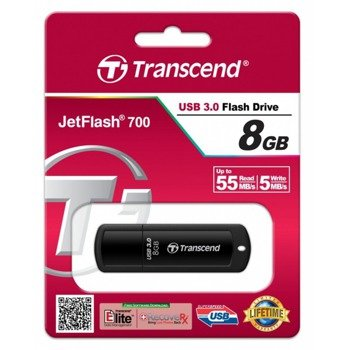 Pendrive Transcend 8GB JetFlash®700 USB3.0
