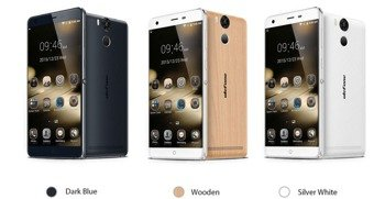 Smartphone Ulefone Power Wood