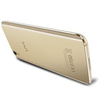 Smartphone Umi Diamond (gold) + etui/folia
