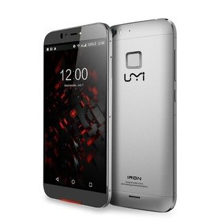 "Smartphone Umi Iron Pro Silver 5.5"" Octacore  3GB 16GB FHD  And 5.1"