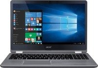 "Laptop Acer R5-571TG-78G8 i7-7500U/15.6"" FHD TouchScreen/12GB/1TB/BT/BLK/x360/GeForce 940MX 2GB/Win 10"