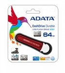 Pendrive Adata 64GB DashDrive Durable S107 USB3.0 czerwony