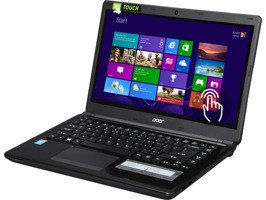 "Laptop Acer Aspire E1-472P-6860 I5-4200U/14"" TouchScreen/4GB/500GB/Win 8.1"