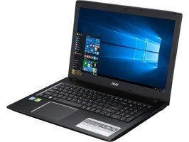 "Laptop Acer E5-575G-728Q I7-7500U/15.6"" FHD/8GB/1TB+SSD 256GB/DVD/GeForce 940MX 2048MB/Win 10"