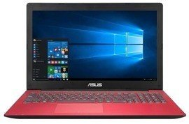 "Laptop Asus D553SA-BH01-RD N3050/15.6""/4GB/500GB/DVD/Win 10 Red"