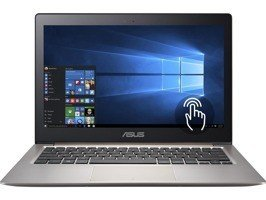 "Laptop Asus ZenBook UX303UB-DH74T I7-6500U/13.3"" QHD TouchScreen/12GB/SSD 512GB/BT/BLK/GeForce GT940M 2GB/Win 10 Smoky Brown"