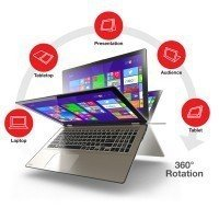 "Laptop Toshiba P55W-B5220 I5-4210U/15.6"" FHD TouchScreen/8GB/750G/x360/Win 8.1"