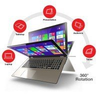 "Laptop Toshiba P55W-B5220 I5-4210U/15.6"" FHD TouchScreen/8GB/750GB/x360/Win 8.1"