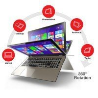 "Laptop Toshiba P55W-B5224 I7-4510U/15.6"" FHD TouchScreen/8GB/SSD 256GB/x360/Win 8.1"