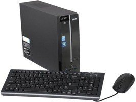 PC Acer I3-4160/4GB/1TB/DVD/WiFi/BT/KB+Mouse/Win 7