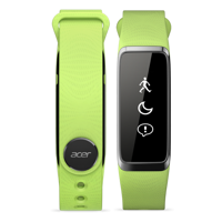 "Smartband Acer Liquid Leap - 1"" (128x32) Touchscreen/Bluetooth/LE/IPX7/Waterproof/Supports/IOS/Android/Green"