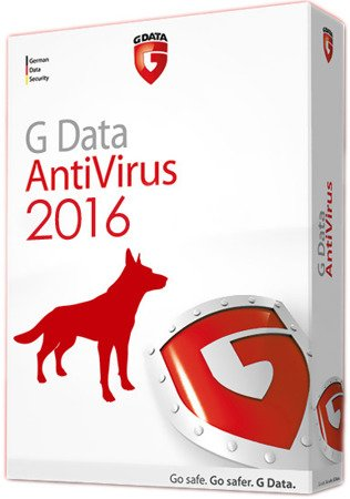 AntiVirus Gdata BOX 2PC 1 rok