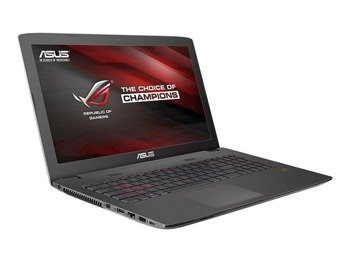 "Laptop Asus ROG GL752VW-DH71 i7-6700HQ/17.3"" FHD/16GB/1TB/DVD/BT/GeForce GTX960M 2GB/Win 10"