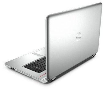 "Laptop HP Envy 17-K170 i7-4510U/17.3"" FHD/12GB/SSD 128GB/DVD/GeForce GTX 850M 4GB/FP Reader/BLK/Win 8.1 Silver"