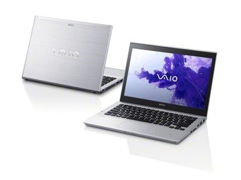 "Laptop Sony T14113CXS i3-3217U/14""/4GB/500GB+SSD 32GB/DVD/BT/Win 8 Silver"